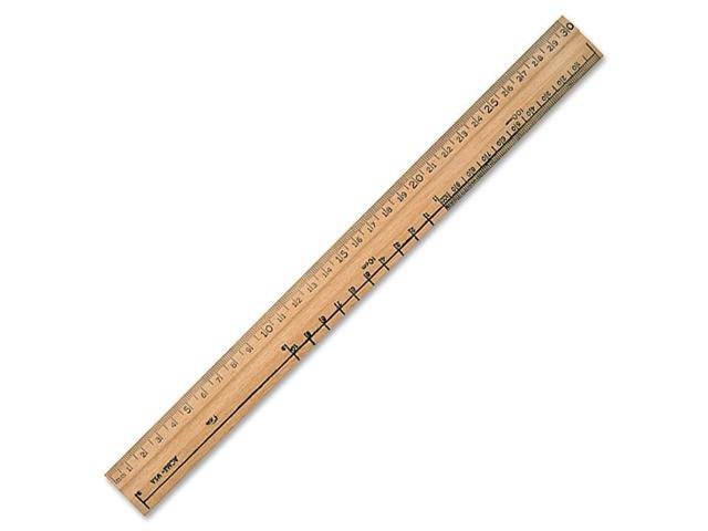 Acme United Metal Edge Double Bevel School Ruler