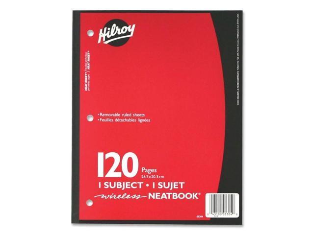 Hilroy Neatbooks One Subject Notebook