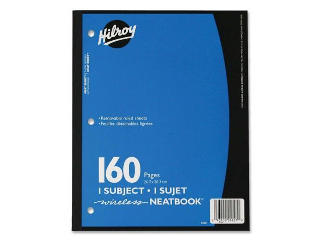 Hilroy Neatbooks One Subject Notebook