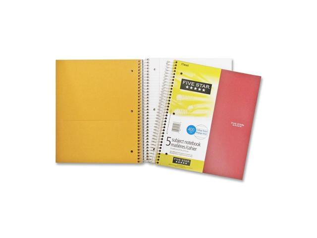 Hilroy Five Subject Notebook