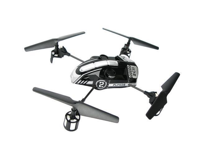 EZ Fly RC Flipside Quadcopter - Silver