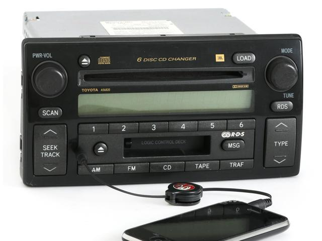toyota camry 2006 aux input toyota camry 2005 2006 radio am fm cd player w aux input 86120. Black Bedroom Furniture Sets. Home Design Ideas