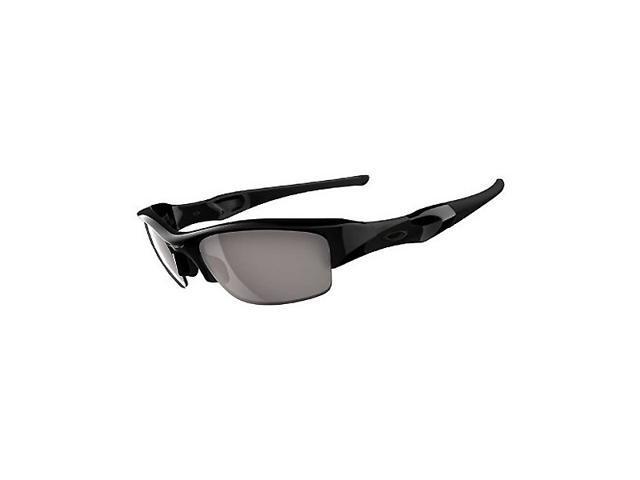 Oakley Men's 24-020J jet black/ slate iridium sunglasses