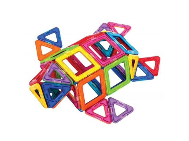 Magformers Intelligent Magnetic Construction Set For Brain Development - 62 Piece Standard Set