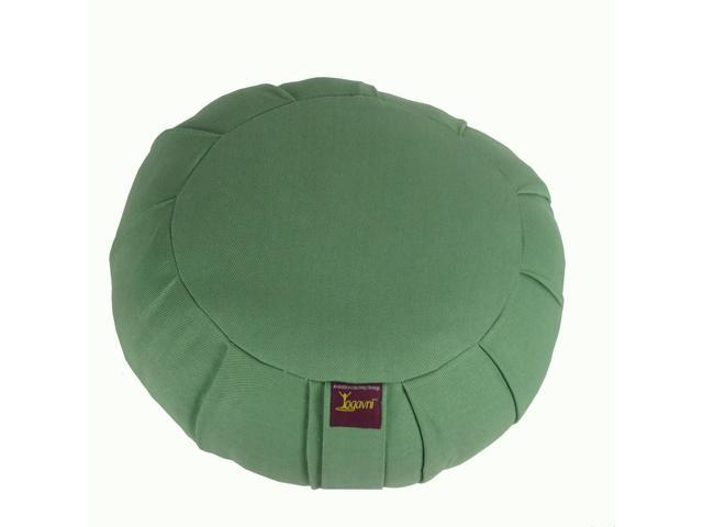 Round Cotton Zafu Cushion for Yoga & Meditation (Sage)