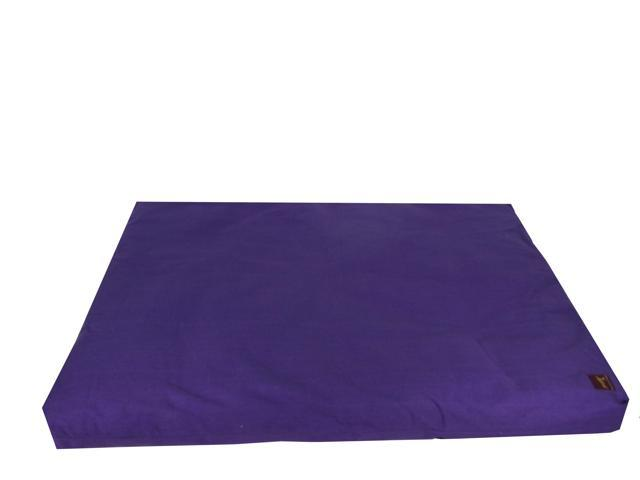Zabuton Filled with Cotton for Yoga & Meditation (Purple)