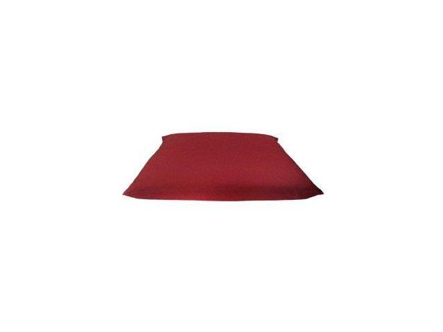 Zabuton Filled with Cotton for Yoga & Meditation (Maroon)