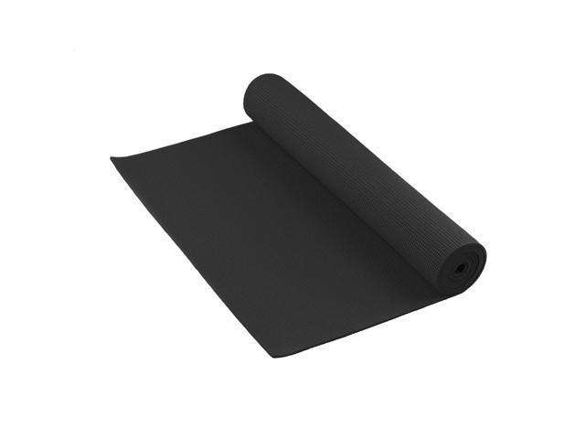 Studio Sticky Yoga Mat 6mm Thick (Black)