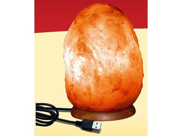 Himalayan Salt Crystal USB Lamps (Aprox 5 Inch)