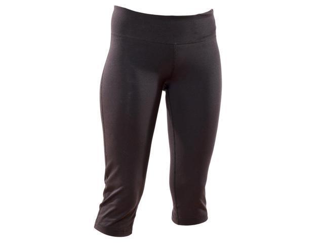 Pilates/Yoga Capri Pant-Black-Medium