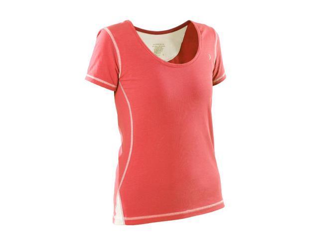 Womans General workout shirt-Coral-XSML
