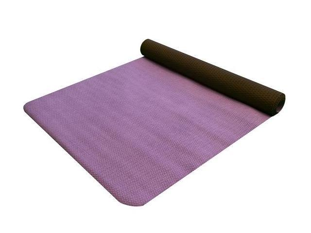 Yoga Towel & Mat in One - Black/Purple