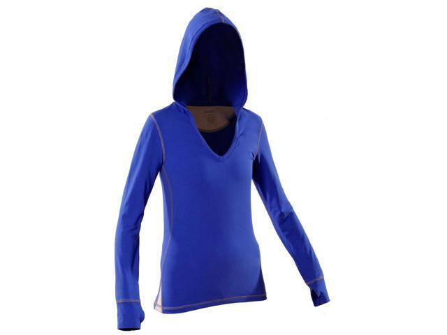 Women's Hoody-Blue-Large