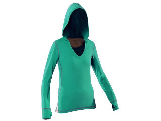 Women's Hoody-Cyan-XL