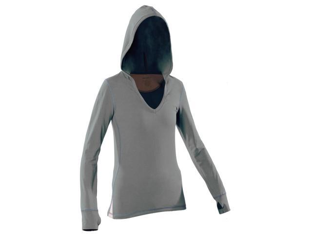 Women's Hoody-Gray-Large