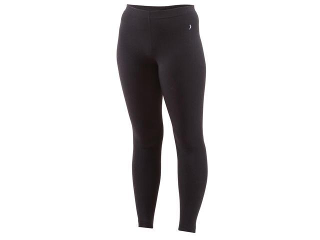 Full length underwear tights-Black-Small