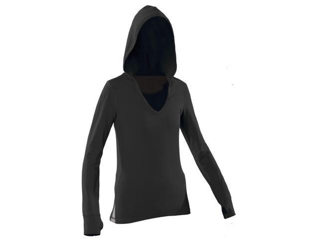 Women's Hoody-Black-Large