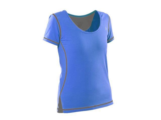 Womans General workout shirt-Royal Blue-XSML