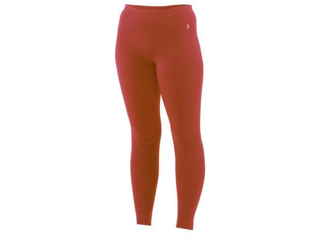 Full length underwear tights-Coral-XL