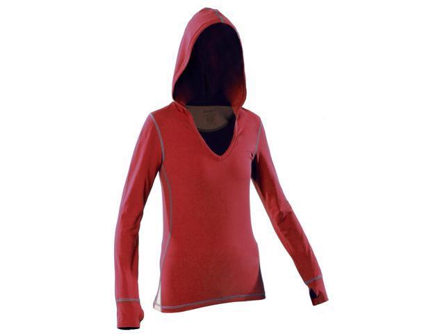 Women's Hoody-Red-XL