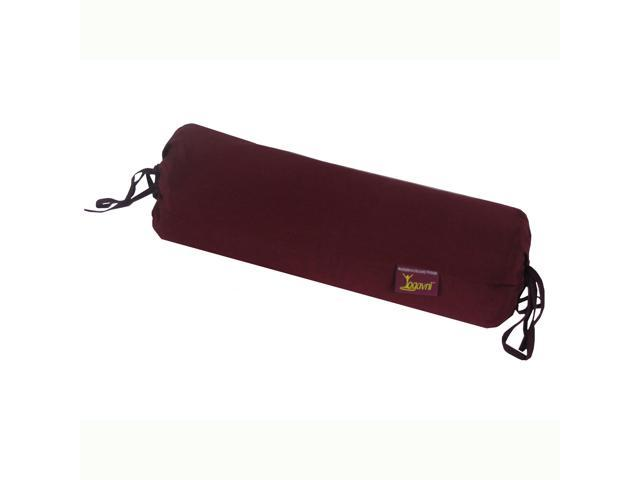 Yoga Silk Neck Pillow (Dark Purple)