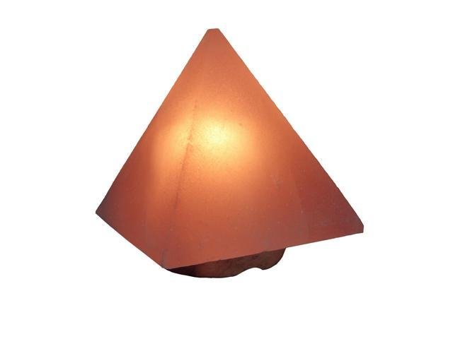 Himalayan Salt Crystal Pyramid Shape Lamp – Medium (Aprox 7 Inch)