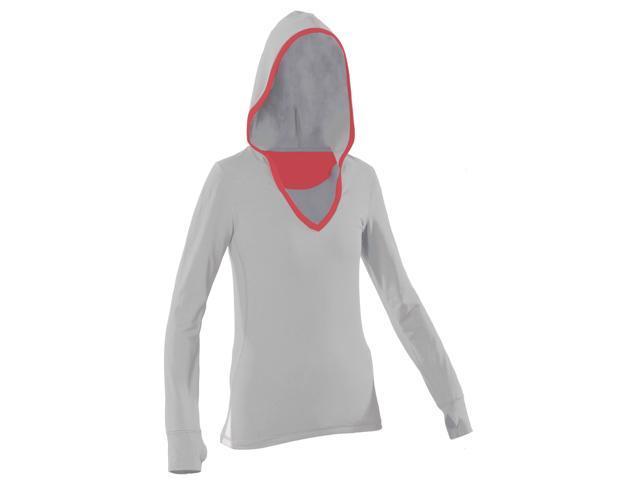 Women's Hoody-white-Large