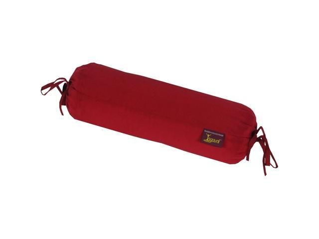 Yoga Silk Neck Pillow (Maroon)
