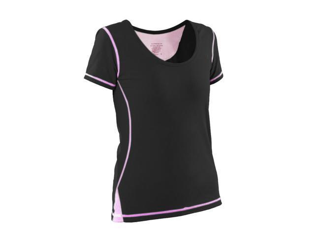 Womans General workout shirt-Black-Medium