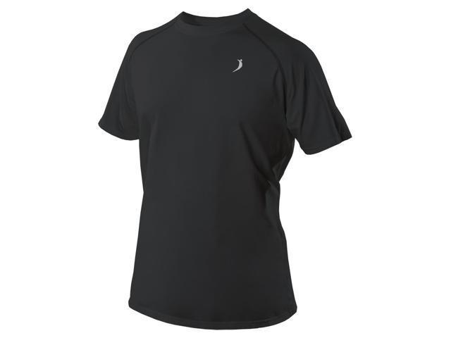 Short Sleeve Crew T-Shirt-Black-Small