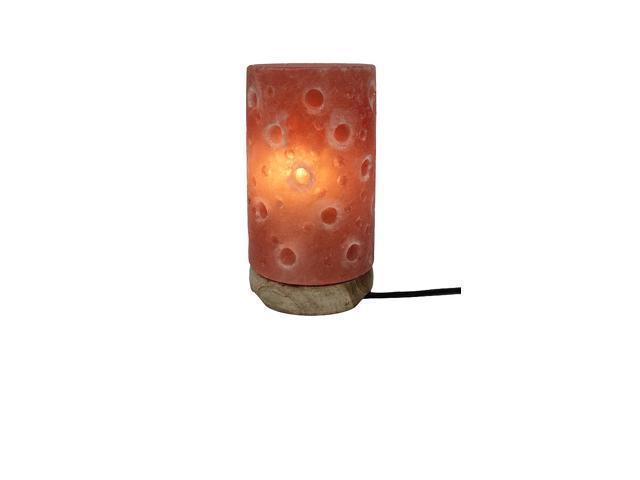 Himalayan Salt Crystal Lamps Pillar Texture (Aprox 7 Inch)