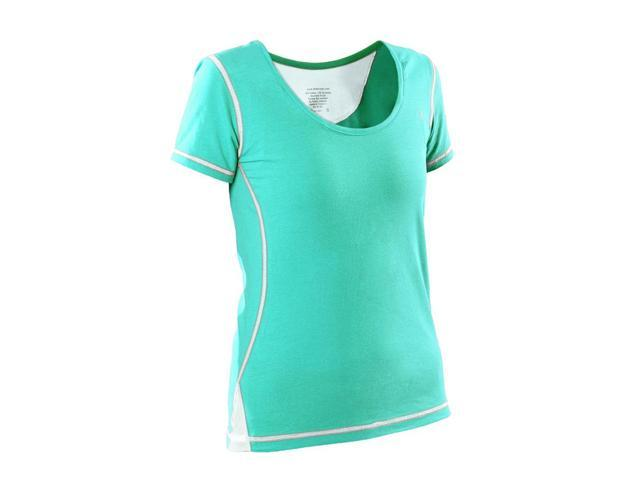 Womans General workout shirt-Green-Large