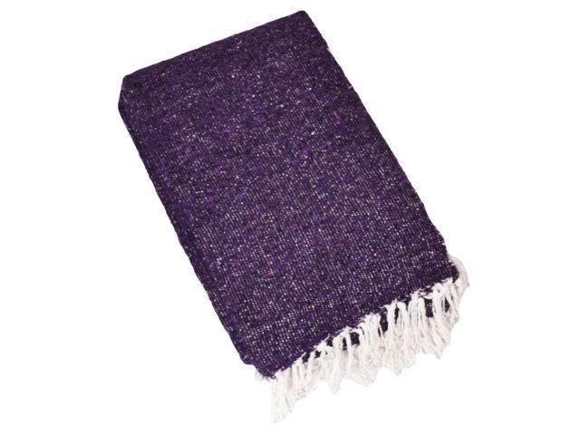 Solid Colour Deluxe Mexican Blankets (Purple)