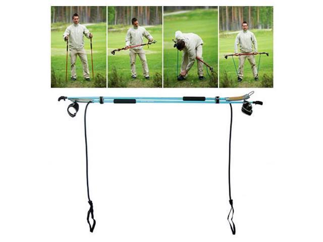 Gymstick(TM) Nordic Walking Poles - Health : Blue-105 cm