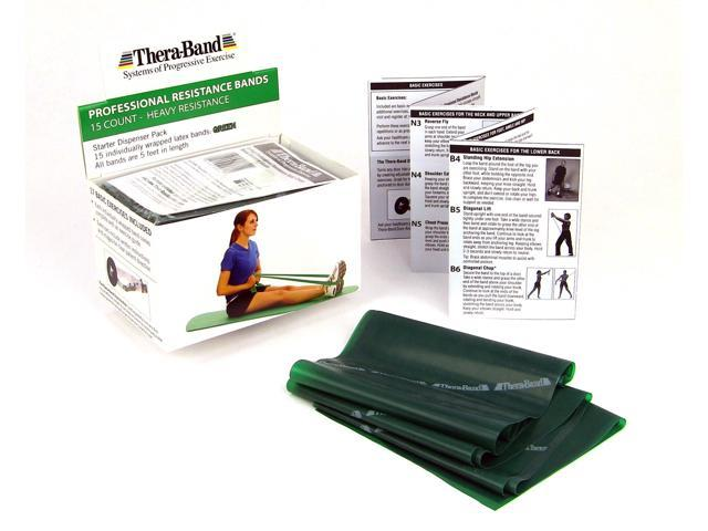 Thera-Band® Dispenser Packs-Green-Individual