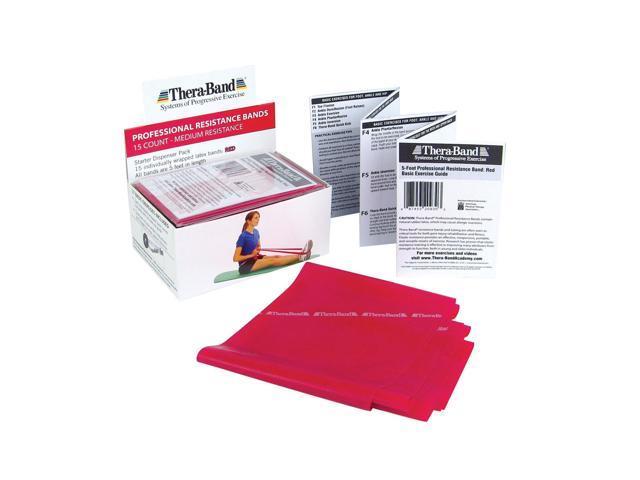 Thera-Band® Dispenser Packs-Red-Individual
