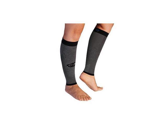 Yoga Compression Calf Sleeve-Black-Medium