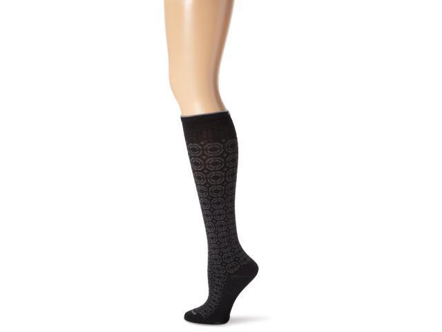 Women Graduated Compression Socks-Black-Medium / Large