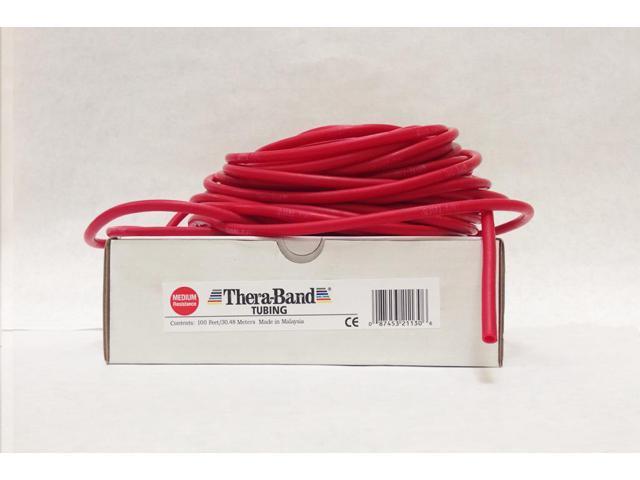 Thera-Band® Tubing-Red-100 Feet