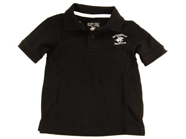 Beverly Hills Polo Club Little Boys 39 Black Solid Short