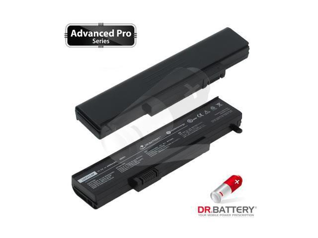 Dr Battery Advanced Pro Series: Laptop / Notebook Battery Replacement for Gateway M1400 Series (4400mAh / 48Wh) 11.1 Volt Li-ion Advanced Pro Series Laptop Battery