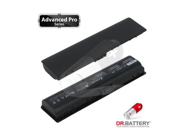 Dr Battery Advanced Pro Series: Laptop / Notebook Battery Replacement for HP 411462-141 (4400mAh / 48Wh ) 10.8 Volt Li-ion Advanced Pro Series Laptop Battery