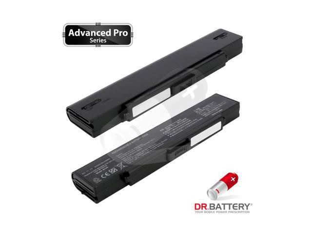 Dr Battery Advanced Pro Series: Laptop / Notebook Battery Replacement for Sony VAIO VGN-CR520E/V (4400 mAh) 11.1 Volt Li-ion Advanced Pro Series Laptop Battery