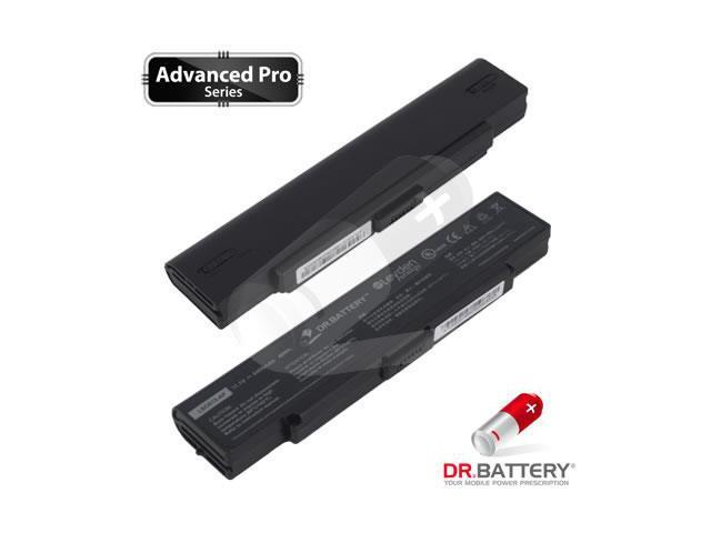 Dr Battery Advanced Pro Series: Laptop / Notebook Battery Replacement for Sony VAIO VGN-S155 (4400mAh / 49Wh) 11.1 Volt Li-ion Advanced Pro Series Laptop Battery