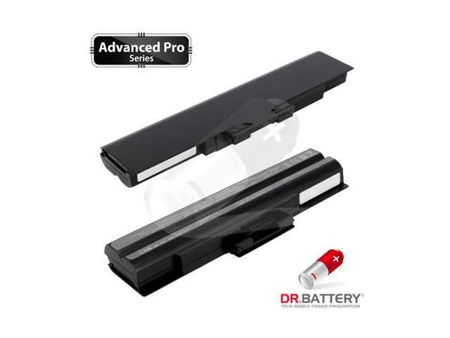 Dr Battery Advanced Pro Series: Laptop / Notebook Battery Replacement for Sony VAIO VGN-NS235J/S (4400 mAh) 11.1 Volt Li-ion Advanced Pro Series Laptop Battery
