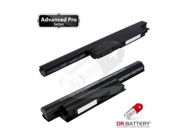 Dr Battery Advanced Pro Series: Laptop / Notebook Battery Replacement for Sony VPCEA1S3C (4400mAh) 10.8 Volt Li-ion Advanced Pro Series Laptop Battery