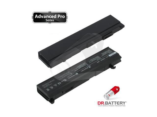 Dr Battery Advanced Pro Series: Laptop / Notebook Battery Replacement for Toshiba Satellite A110-212 (4400mAh / 48Wh) 10.8 Volt Li-ion Advanced Pro Series Laptop Battery
