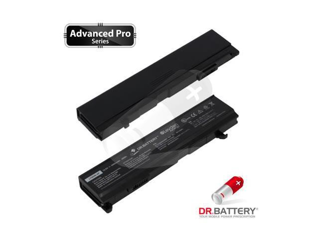 Dr Battery Advanced Pro Series: Laptop / Notebook Battery Replacement for Toshiba Satellite A105-S4164 (4400mAh / 48Wh) 10.8 Volt Li-ion Advanced Pro Series Laptop Battery
