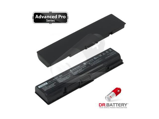 Dr Battery Advanced Pro Series: Laptop / Notebook Battery Replacement for Toshiba Satellite A210-162 (4400mAh / 48Wh) 10.8 Volt Li-ion Advanced Pro Series Laptop Battery