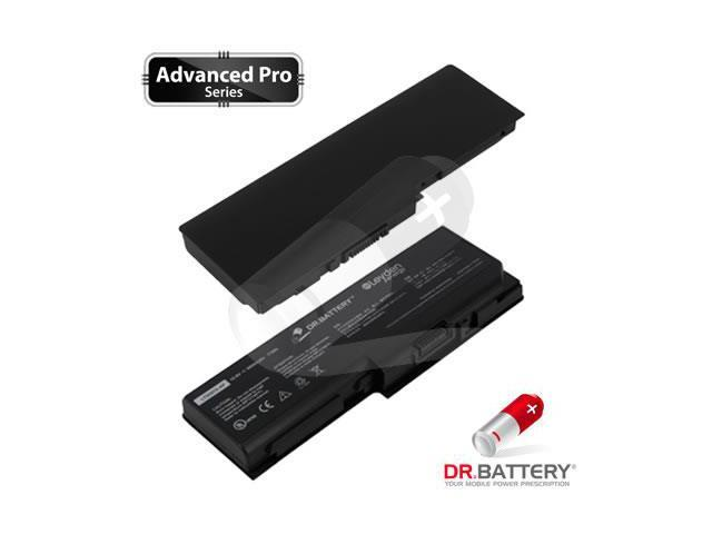 Dr Battery Advanced Pro Series: Laptop / Notebook Battery Replacement for Toshiba Satellite P200-12D (6600 mAh) 10.8 Volt Li-ion Advanced Pro Series Laptop Battery
